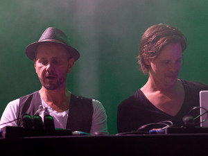 German DJ duo 'Booka Shade'