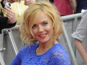 Guest judge Geri Halliwell arrives at the X Factor auditions in Liverpool