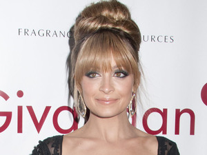 Nicole Richie pictured arriving for the 40th Annual Fifi Awards, held at the Lincoln Center