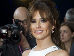 Cheryl Cole on the red carpet at the London premiere of What To Expect When You're Expecting, held at the BFI IMAX