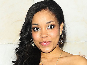 Singer and TV star Dionne Bromfield is seen leaving The British Inspiration Awards, held at the InterContinental Hotel in London