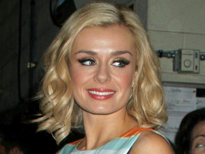 Dancing With The Stars runner-up Katherine Jenkins arriving at the 'Live with Kelly!' studios in New York