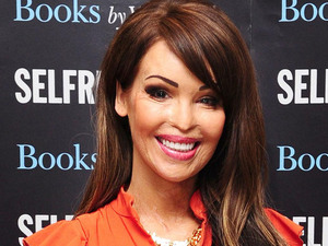 Former model and TV presenter Katie Piper attends a signing session for her new book Things Get Better at Selfridges in London