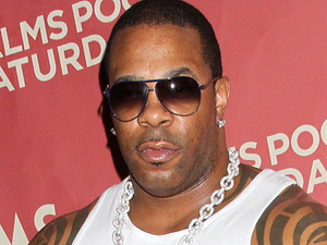 Rapper Busta Rhymes hosts the Palms Pool Saturday Party at the Palms Casino Resort in Las Vegas