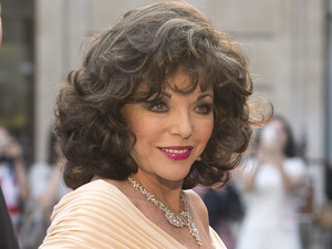 Joan Collins arrives at 'A Celebration of the Arts' held at the Royal Academy of Arts, London