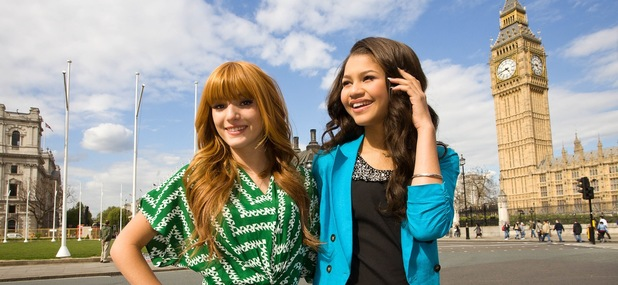 Shake It Up stars Zendaya and Bella Thorne