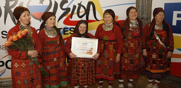 Russian group known as the Buranovskiye Babushki, or Buranovo Grannies