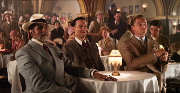 Amitabh Bachchan with Tobey Maguire and Leonardo DiCaprio The Great Gatsby