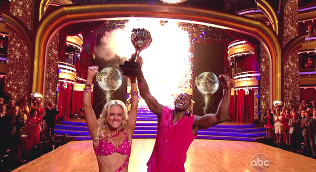 Peta Murgatroyd and Donald Driver ABC's Dancing with the Stars Season 14, Finale part 2 Kelly Clarkson and Gladys Knight perform; The cast returns to dance once more and the season 14 winner is announced after the finalists peform their final dances of the season USA - 22.05.12 Supplied by WENN.comWENN does not claim any ownership including but not limited to Copyright or License in the attached material. Any downloading fees charged by WENN are for WENN's services only, and do not, nor are they intended to, convey to the user any ownership of Copyright or License in the material. By publishing this material you expressly agree to indemnify and to hold WENN and its directors, shareholders and employees harmless from any loss, claims, damages, demands, expenses (including legal fees), or any causes of action or  allegation against WENN arising out of or connected in any way with publication of the material.