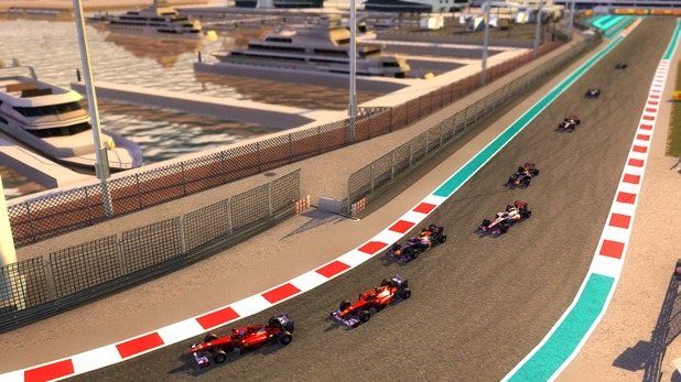 F1 Online: The Game: Abu Dhabi Track