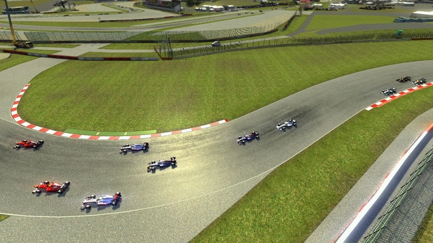 F1 Online: The Game: Silverstone Track