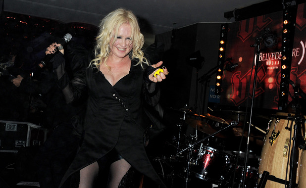 Cyndi Lauper attends the (BELVEDERE)RED Party in Cannes