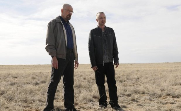 Breaking Bad Season 5 first image: Walter White (Bryan Cranston) and Jesse Pinkman (Aaron Paul)