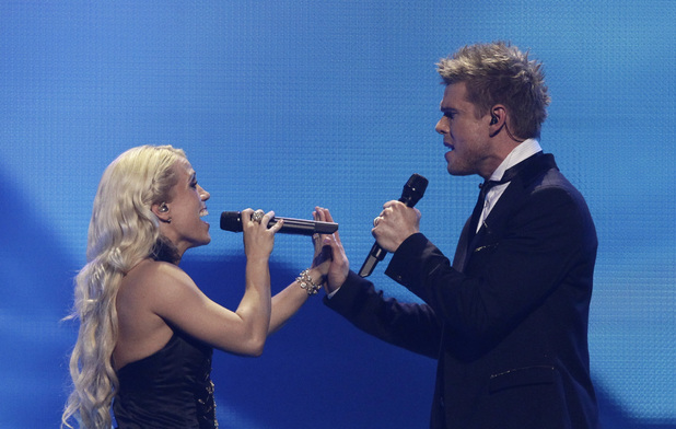 Eurovision Song Contest 2012: Iceland's Greta Salome and Jonsi