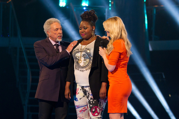 Tom Jones, Ruth Brown, Holly Willoughby