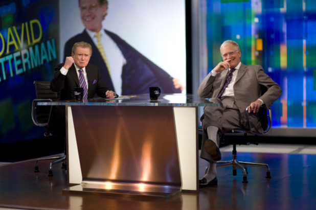 Regis Philbin Interview with David Letterman