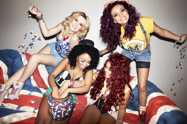Little Mix launch Union Jack M&Ms mix