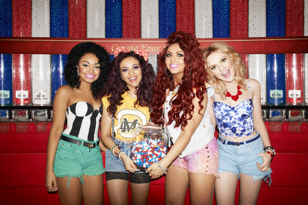 Little Mix get patriotic