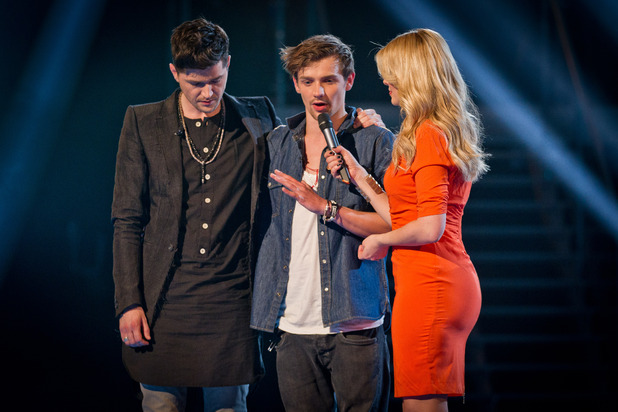 The Voice UK - Results Show 5 (27/05/12) - Danny O&#39;Donoghue, Max Milner, Holly Willoughby