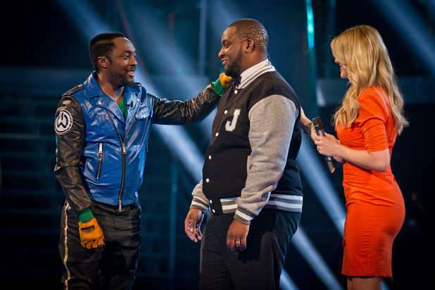 Will.i.am, Jaz Ellington, Holly Willoughby