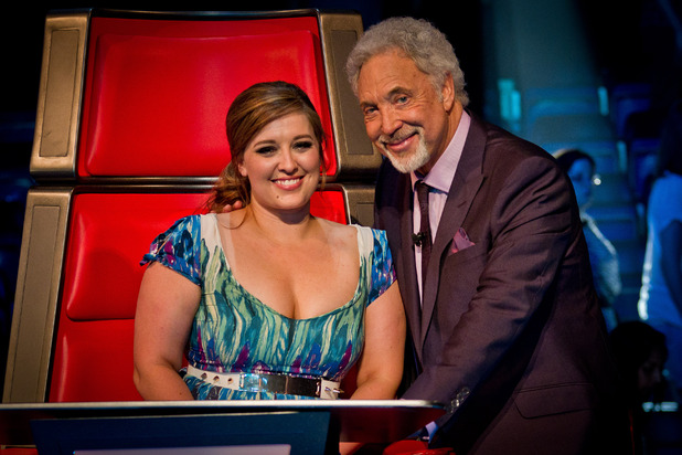 The Voice UK - Results Show 5 (27/05/12) - Team Tom, Leanne Mitchell, Tom Jones