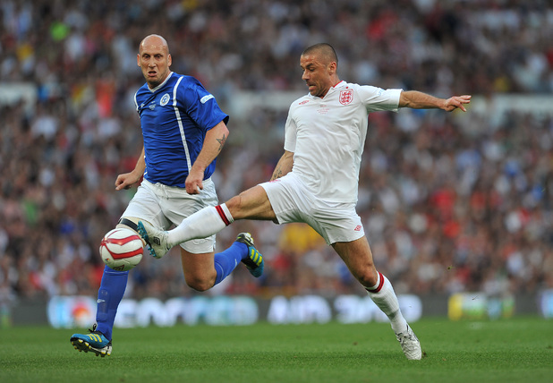 Jaap Stam and Kevin Phillips