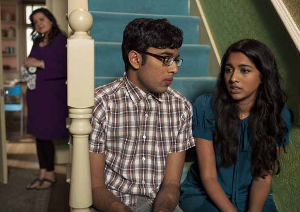 Tamwar suggests to Afia that they have a baby.