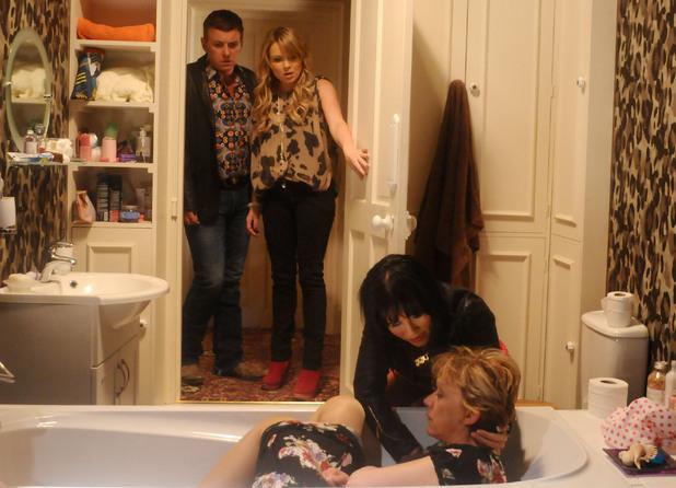 Kat tries to bring Jean round.