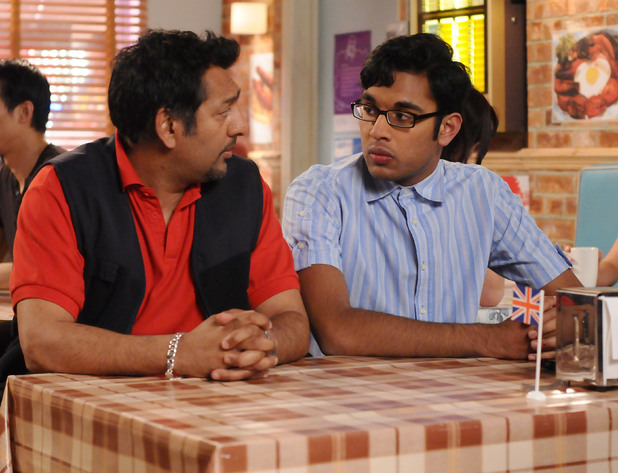 Masood and Tamwar have a heart to heart.