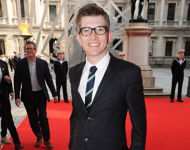 Gareth Malone arrives at 'A Celebration of the Arts' held at the Royal Academy of Arts, London