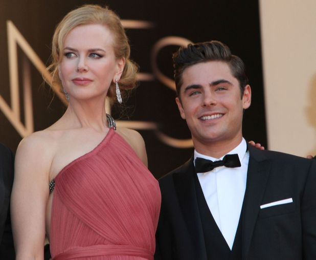 Nicole Kidman and Zac Efron