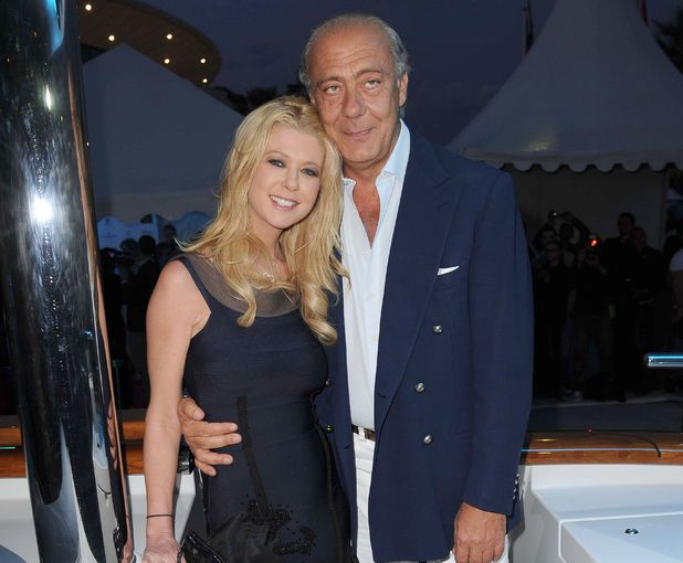 Tara Reid and Fawaz Gruosi