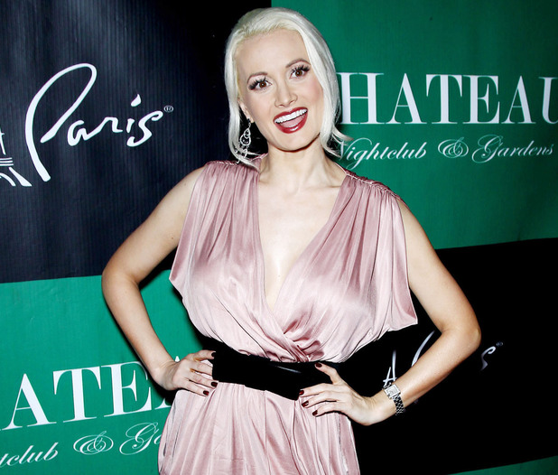 Holly Madison celebrates Memorial Day at the Chateau Nighclub & Gardens in Paris, France
