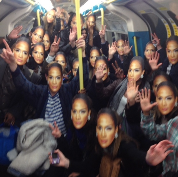 Jennifer Lopez masks