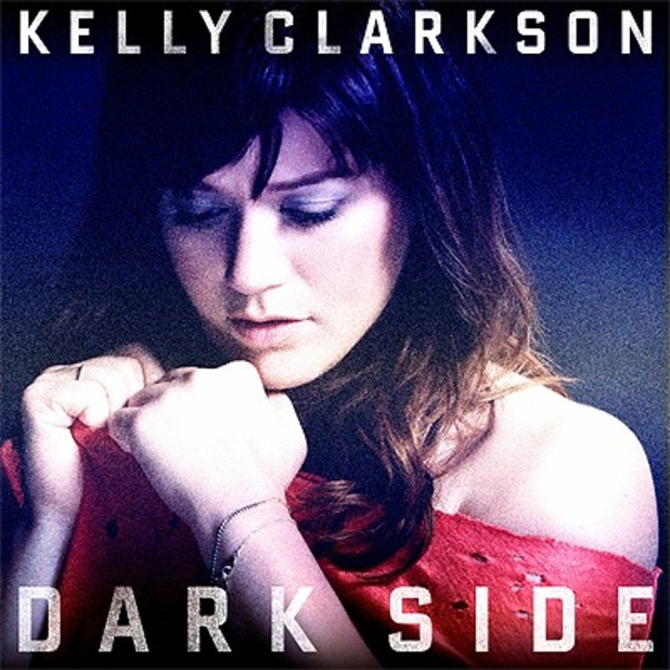 Kelly Clarkson 'Dark Side' artwork.