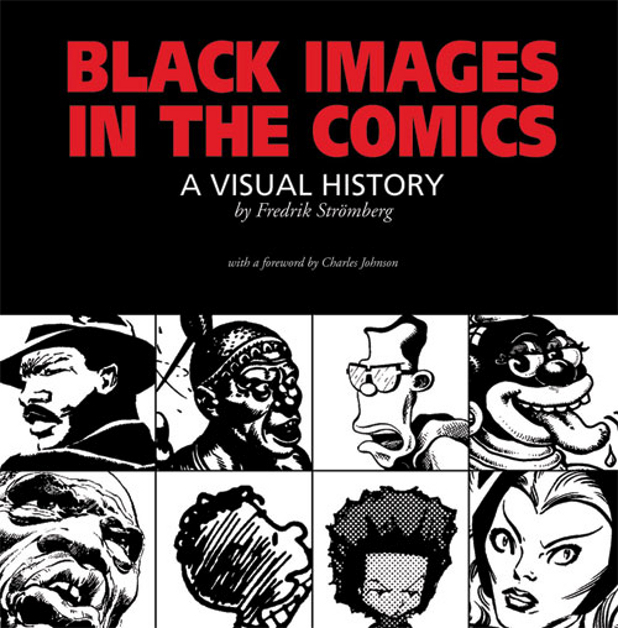 Fredrik Stromberg - 'Black Images in the Comics' cover