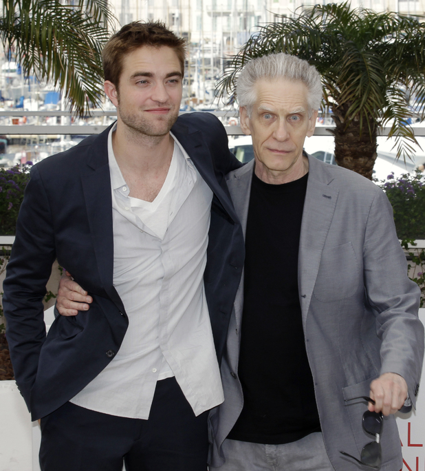 Robert Pattinson and director David Cronenberg