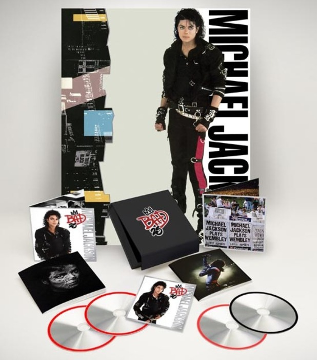 Michael Jackson 'Bad 25' box set.