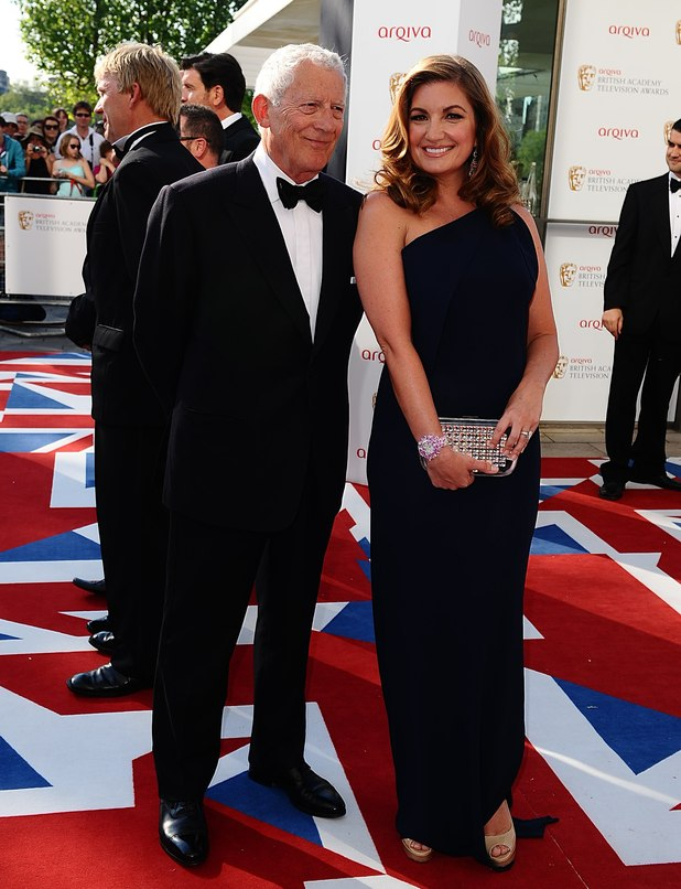 Nick Hewer and Karen Brady