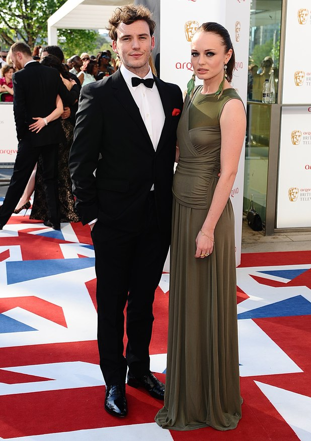 Laura Haddock and Sam Clafin