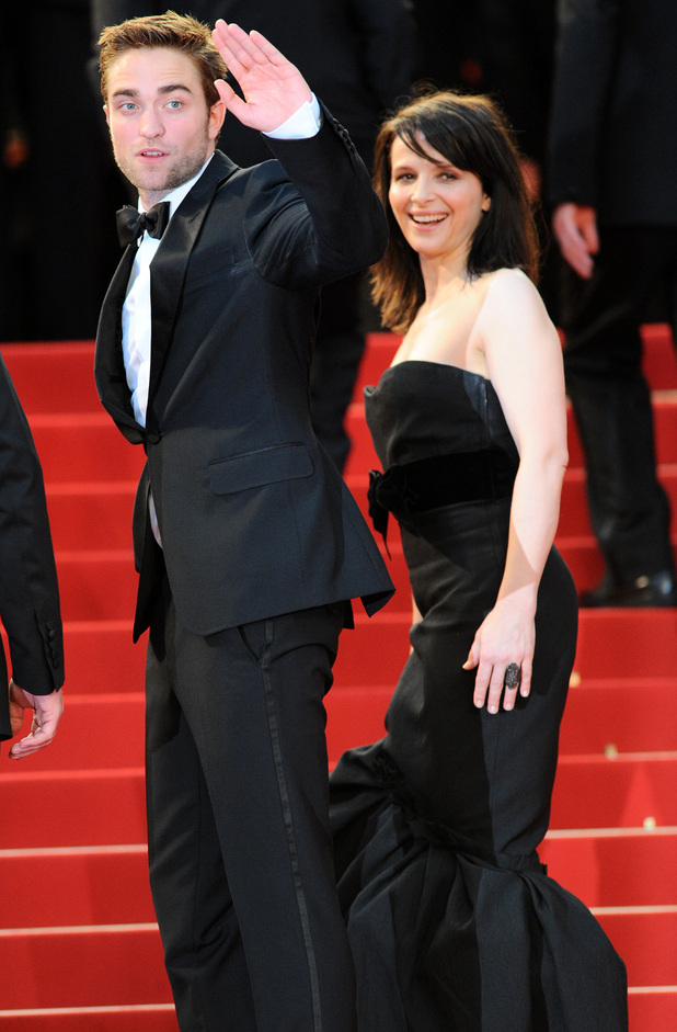 Cosmopolis Premiere: Robert Pattinson and Juliette Binoche