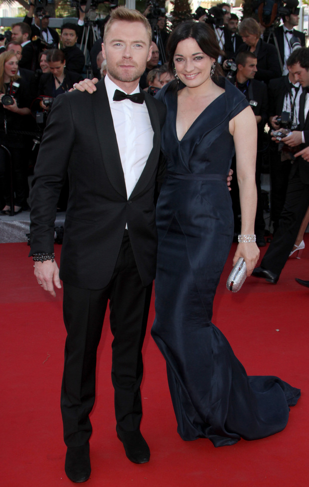 Killing Them Softly Premiere: Ronan Keating and Laura Michelle Kelly