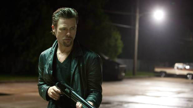 Watch a Cannes preview clip from Brad Pitt&#39;s &#39;Killing them Softly&#39;.