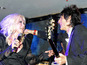 Ronnie Wood joins Cyndi Lauper at Cannes