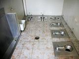 Beijing communal toilet