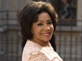 Dame Shirley Bassey arrives at 'A Celebration of the Arts' held at the Royal Academy of Arts, London