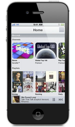 Music Unlimited iOS app