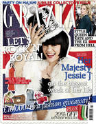 Grazia front cover featuring Jessie J