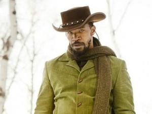 Jamie Foxx as Django in Quentin Tarantino's Django Unchained