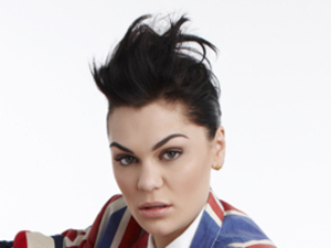 Jessie J wears the Union Flag